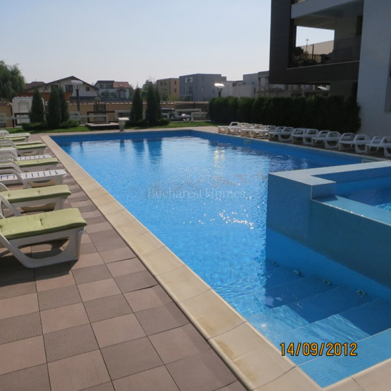 Smart two bedroom apartment with pool in pipera rental for Pool designs under 30000
