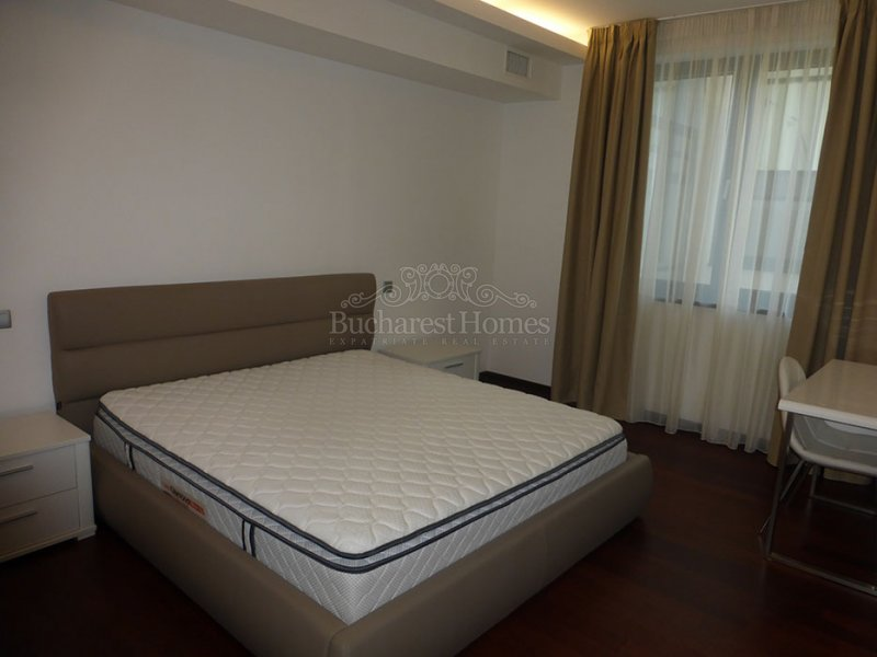 Very Smart, Furnished, Two Bedroom Apt with Garden in Baneasa