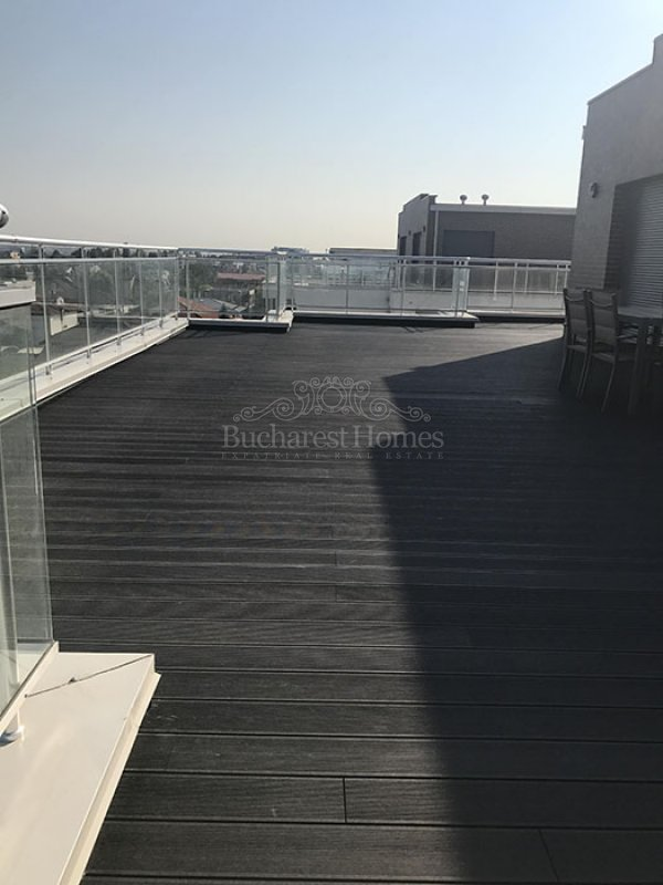 Furnished Three Bedroom Penthouse with Terrace, Baneasa