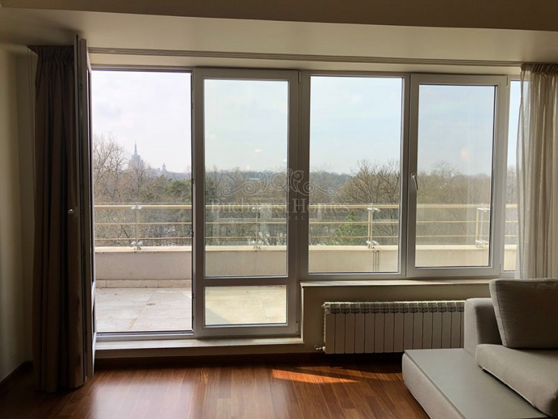 Park view apartment of 3 bedrooms, Herastrau