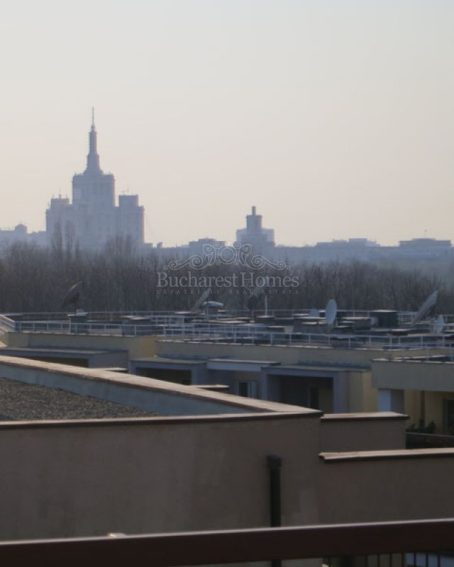 Two Bed Penthouse with Spectacular West Facing Views over Herastrau